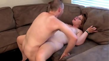 Blonde Fucked From Tight Pussy in Bed