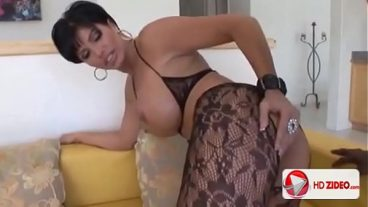 Thick European skin with big, liquid Tits paid in kind