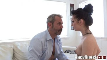 Mature Guy Makes Love With Young Girl